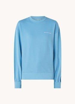 Marie-Stella-Maris Marie-Stella-Maris WWD limited edition sweater van biologisch katoen