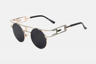 Blank-Sunglasses NL SIMULTY. - Gold with black