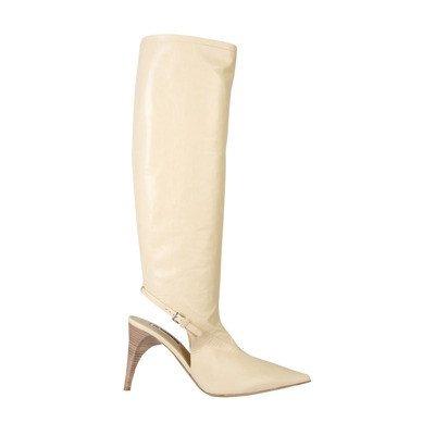Jil Sander High Sling Back Boots