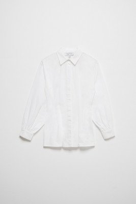 nu-in Cinched Waist Shirt