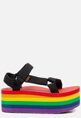 Teva Teva Flatform Universal Rainbow Pride sandalen