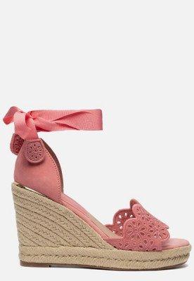 tamaris Tamaris Sandalen met sleehak roze