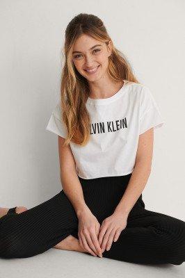 Calvin Klein Calvin Klein Cropped Top - White