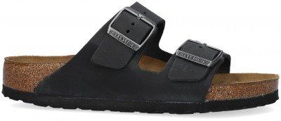Birkenstock Zwarte Birkenstock Slippers Arizona Dames