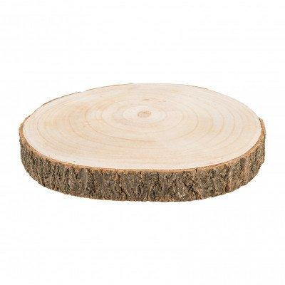 Xenos Decoratie plateau hout - 26 cm