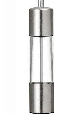 HEMA Peper- Of Zoutmolen - 5 X 18.5 - RVS (zilvergrijs)