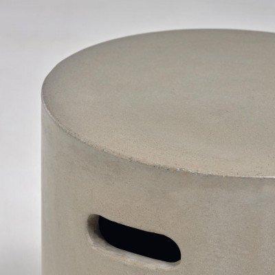 Kave Home Kave Home Bijzettafel 'Jenell' 35cm, kleur Grijs