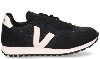 VEJA VEJA SDU REC Flannel Zwart/Blauw/Wit Damessneakers