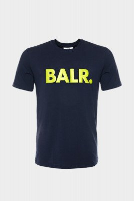 BALR. BALR. Straight Brand T-shirt /Yellow