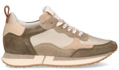 Maripe Maripe Adelaide Beige/Groen Damessneakers