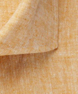 Profuomo Profuomo heren geel linnen one-piece overhemd Originale