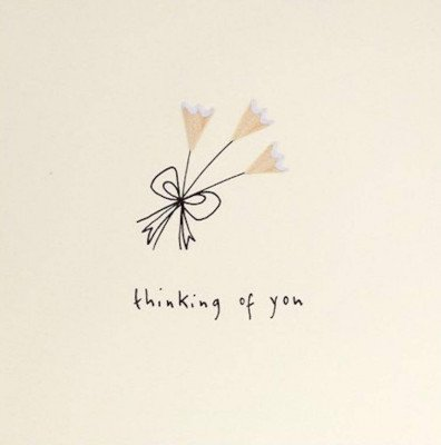 Growing Concepts Wenskaart - Thinking of you