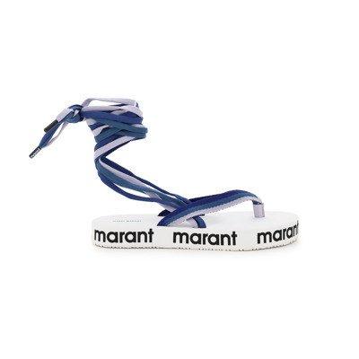 Isabel marant flip flop sandals