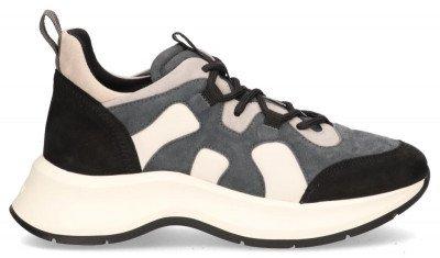Hogan Hogan H585 Grijs/Zwart Damessneakers