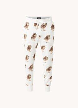 Snurk Snurk Night Owl pyjamabroek van biologisch katoen met print