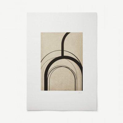 MADE.COM Arches door Alexandra Papadimouli, print, 50 x 70 cm