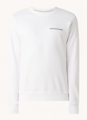 Calvin Klein Calvin Klein Monogram sweater met backprint