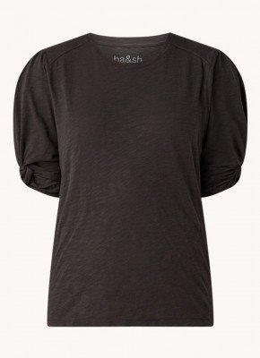 BAenSH ba&sh Cimba T-shirt met pofmouw