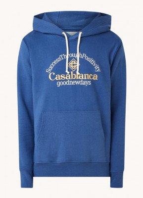 Casablanca Casablanca Hoodie van biologisch katoen met logoborduring