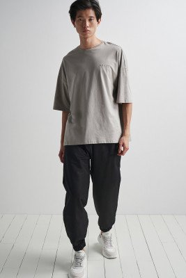 nu-in Tapered Shell Joggers