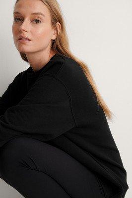 NA-KD Reborn NA-KD Reborn Oversized Sweater - Black