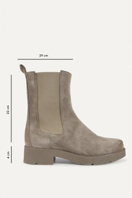 Shoecolate Shoecolate Chelsea boot Taupe 8.20.08.370