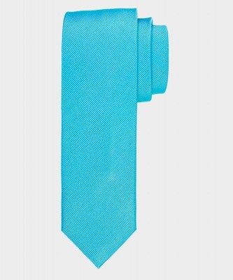 Michaelis Michaelis heren zijden stropdas turquoise
