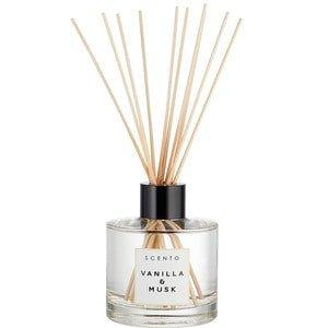 Scento Scento Geurstokjes SCENTO - VANILLA & MUSK Parfum Diffusers - 200 ML