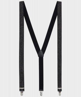 Michaelis Michaelis heren bretels zwart