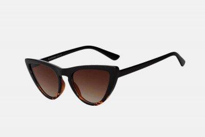 Blank-Sunglasses NL FLOWEY. - Blackleopard with brown