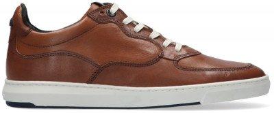 Floris van Bommel Cognac Floris Van Bommel Lage Sneakers 16321