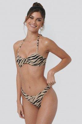 NA-KD Swimwear NA-KD Swimwear Side Knot High Cut Bikini - Multicolor