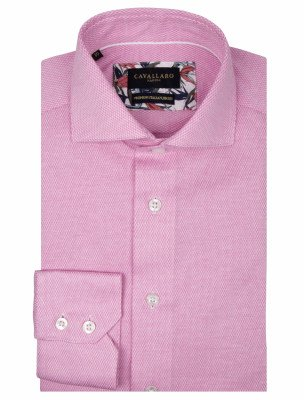Cavallaro Napoli Cavallaro Napoli Heren Overhemd - Alessio Overhemd - Roze
