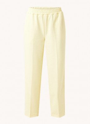 Selected Femme Selected Femme Malli high waist straight fit pantalon met structuur