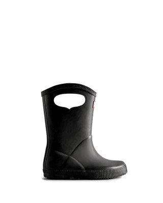 Hunter Boots Kids First Classic Grab Handle Wellington Boots