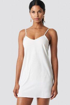 NA-KD Basic NA-KD Basic Woven Basic Dress - White