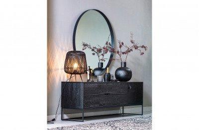 WOOOD Exclusive WOOOD Exclusive Tafellamp 'Moza' kleur Zwart