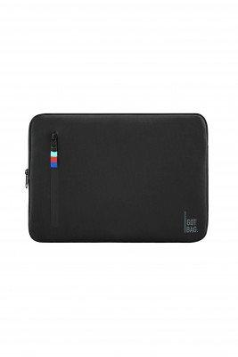 GOT BAG GOT BAG unisex vegan Laptophoes 13&15 inch Zwart 15'' Gerecycled plastic (visnetten, flesjes, nylon, polyester)