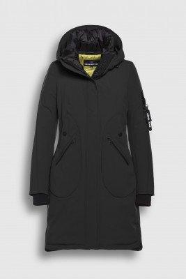 Creenstone Creenstone Techno-stretch coat - Black