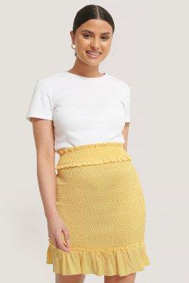 NA-KD NA-KD Minirok - Yellow