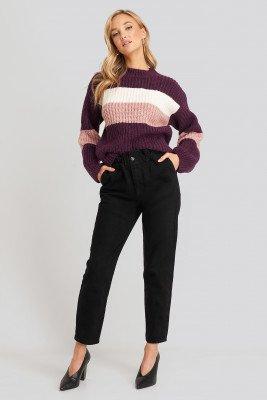 Trendyol Trendyol High Waist Mom Jeans - Black