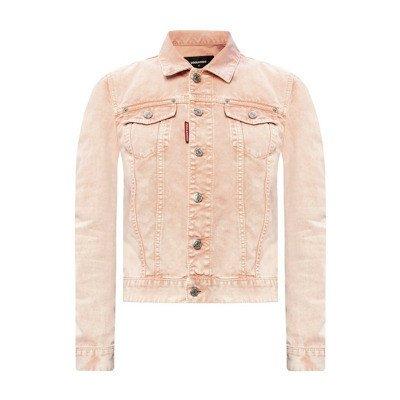 Dsquared2 Gemerkte denim jacket