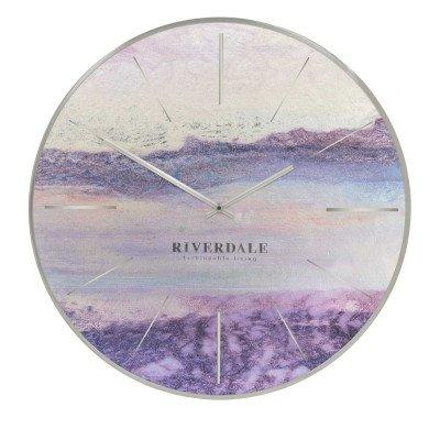 Riverdale NL Wandklok Brixton metallic 65cm