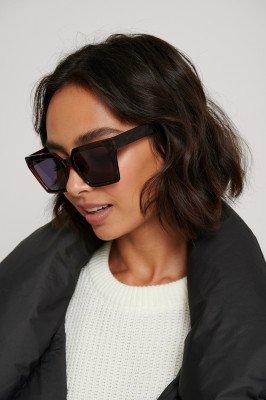 Corlin Eyewear Corlin Eyewear Zonnebril Met Vierkant Frame - Brown