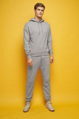 nu-in 100% Organic Tapered Track Joggers