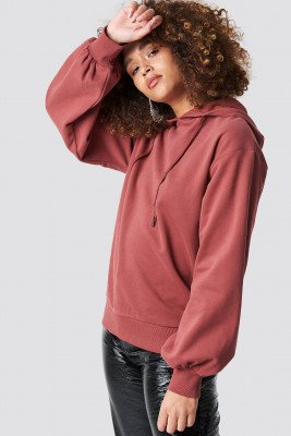 Rut&Circle Rut&Circle Balloon Sleeve Sweatshirt - Pink