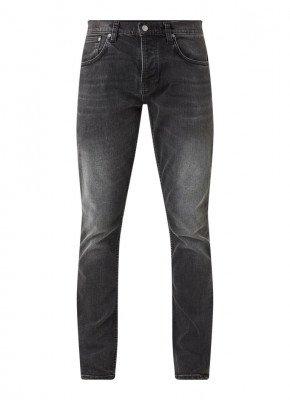 Nudie Jeans Nudie Jeans Grim Tim slim fit jeans met stretch