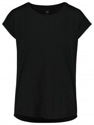 HEMA Dames Sportshirt Loose Fit Zwart (zwart)