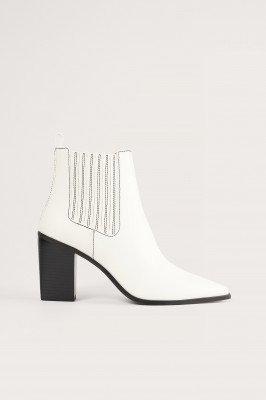 NA-KD Shoes NA-KD Shoes Laarzen - Offwhite