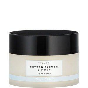 Scento Scento Cotton Flower Musk SCENTO - Cotton Flower Musk Body Scrub